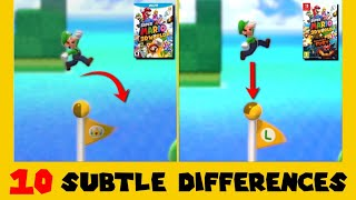 10 Subtle Differences between Super Mario 3D World for Switch and Wii U (Part 4)