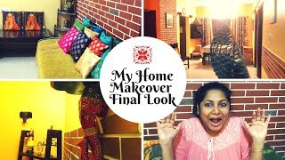 Deepavali Home Makeover Vlog in Tamil - Final Look (Part 4) | Small Budget Big Makeover in Tamil
