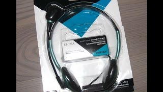 Скачать Обзор стрео гарнитуры с микрофоном Smartbuy EZ TALK MKII