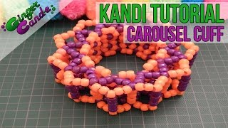 How to Make a Carousel Cuff - [Kandi Tutorial]