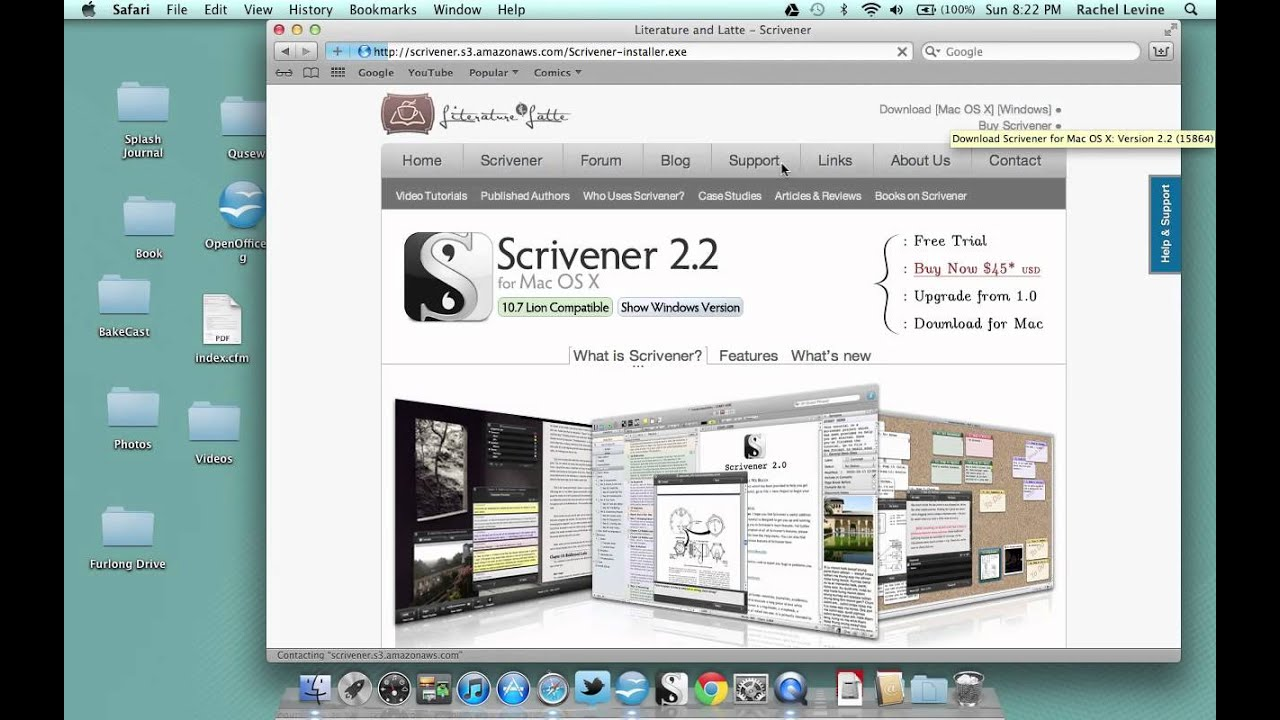 What I use: Open Office and Scrivener