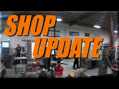 NYC CNC Shop Update - June 2018!