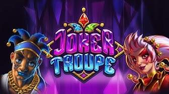JOKER TROUPE (PUSH GAMING) ONLINE SLOT - MASSIVE WIN!