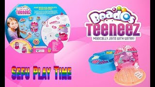 Beados Teeneez Style N Go Designer Studio. Kids family toy review. Kids craft, emoji crafts
