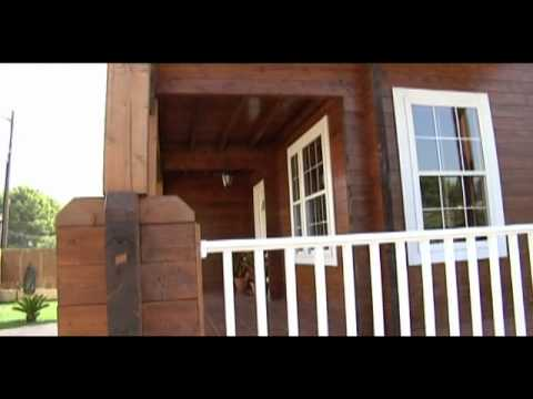 Casas de madera carbonell en cantabria youtube - Casas madera valencia ...