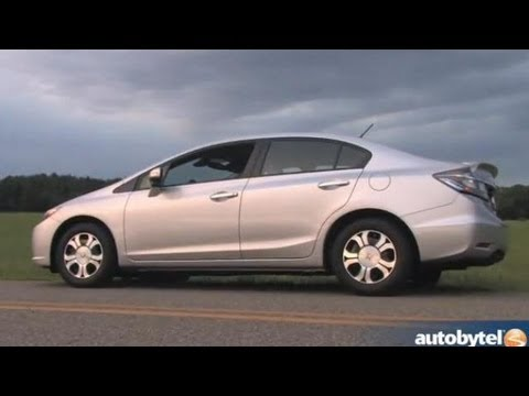 Beautiful 2013 Honda Civic Hybrid Test Drive U0026 Car Video Review
