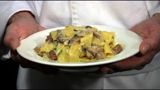 The Dish -- Mushroom Pappardelle