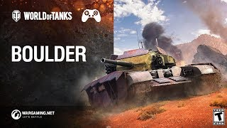 World of Tanks: Mercenaries – Boulder