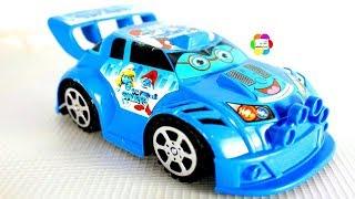 لعبة عربية السنافر الجديدة بالريموت للاطفال والعاب السيارة الحقيقية والسباقات للاولاد والبنات