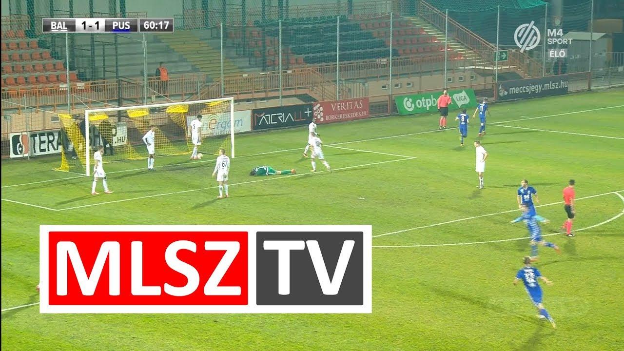 Perosevic Antonio gólja a Balmaz Kamilla Gyógyfürdő - Puskás Akadémia FC mérkőzésen