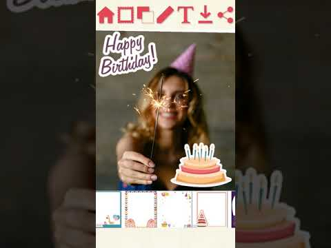Happy Birthday Greeting Cards – Photo Frames – Apps on Google
