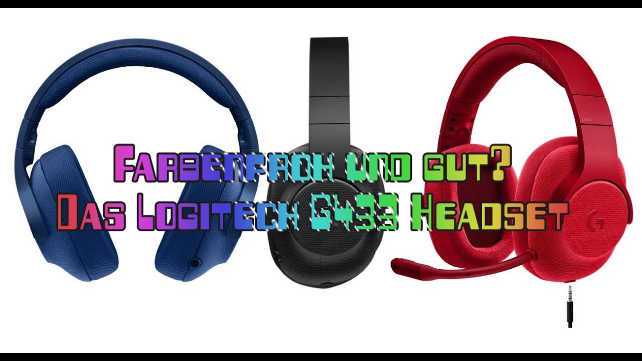 logitech g433 gaming headset test ungew hnliches design. Black Bedroom Furniture Sets. Home Design Ideas