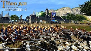 THE LAST FREE CITY OF MIDDLE EARTH (Siege Battle) - Third Age: Total War (Reforged)