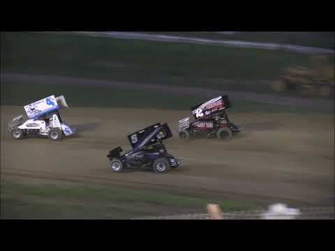 Ohio Valley Sprint Car Association  Heat #1 from Brushcreek Motorsports Complex, May 19th, 2018.