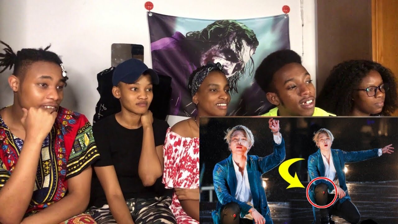 AFRICANS REACT TO BTS Accident, Fall And Faint