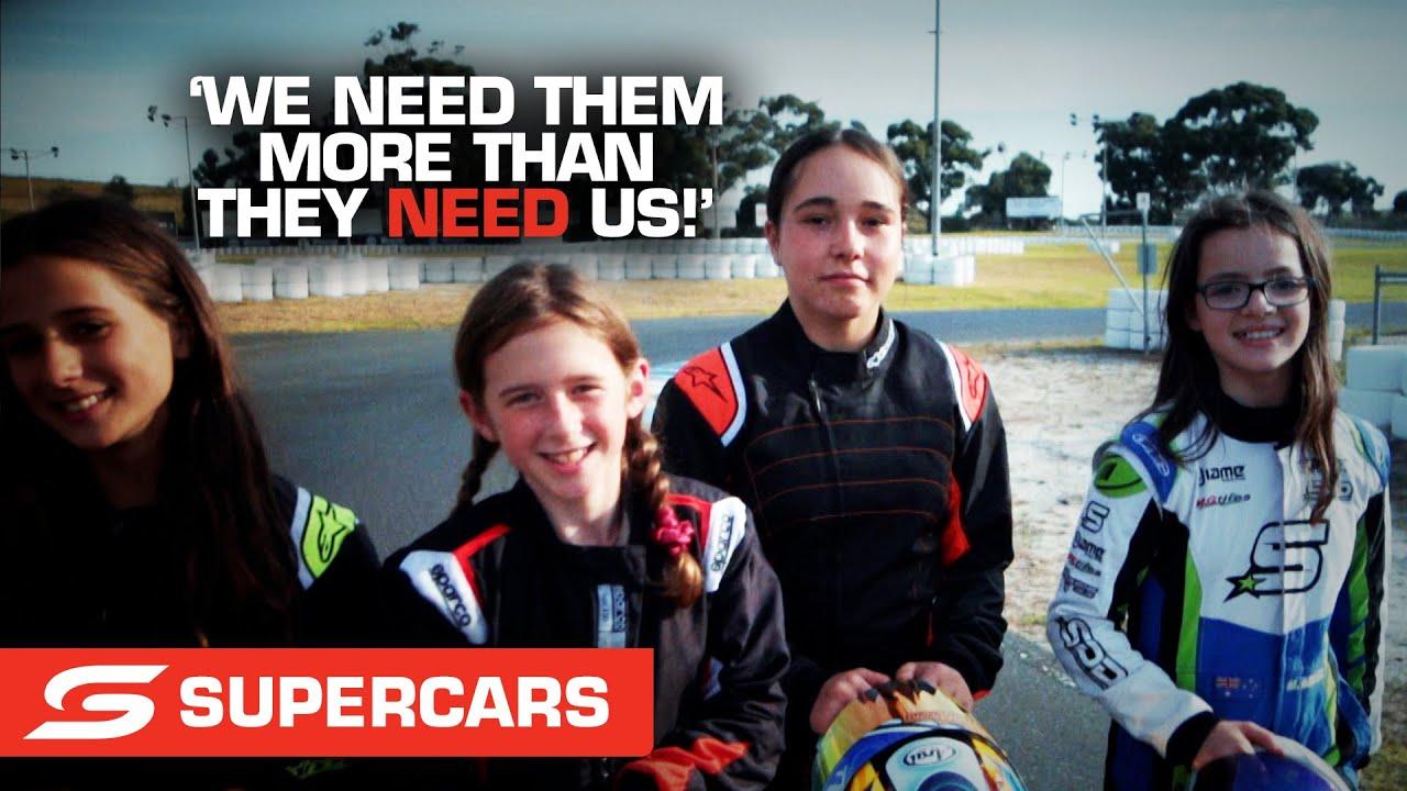 Meet the girls crushing it in karting - Penrite Oil Sandown SuperSprint | Supercars 2021