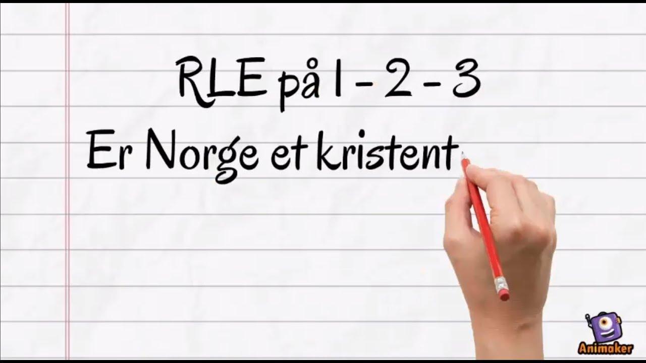 RLE på 1-2-3: Er Norge et kristent land?