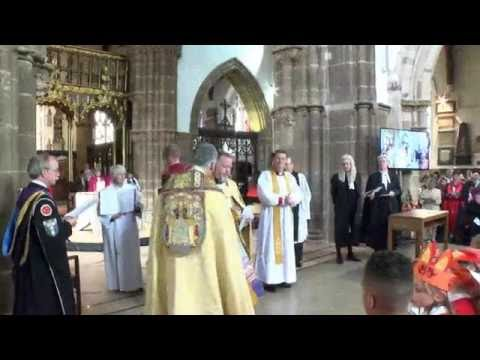 Bishop of Leicester Rt Revd Martyn Snow Service of Welcome