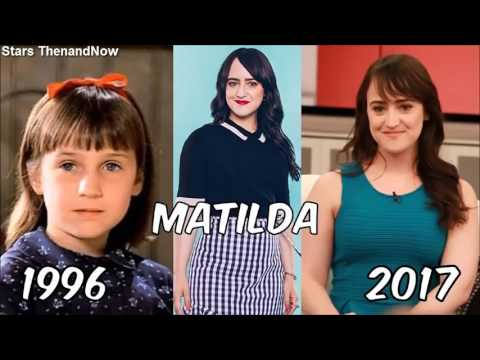 Matilda Then and Now 2017 - YouTube