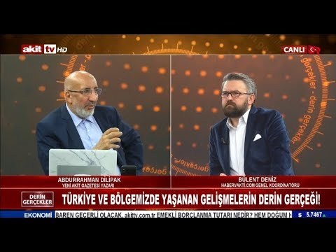 Derin Gerçekler - Türkiye Ve Bölgemizde Yaşanan Gelişmelerin Derin Gerçeği 25.11.2019