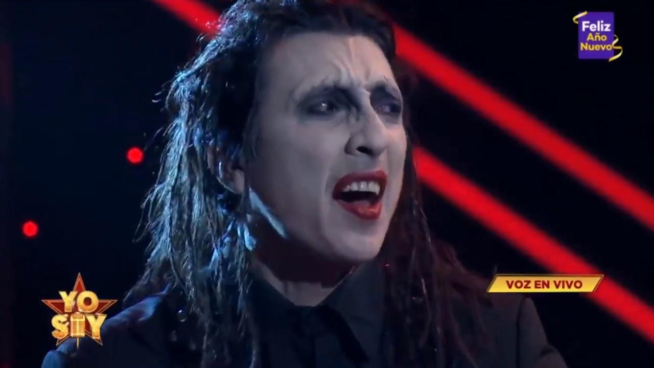 Yo Soy Marilyn Manson Ganador 2020 (Mike Bravo)