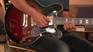 Epiphone Sheraton Reissue - clean and ovderdrive