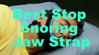 Anti Snoring Jaw Strap (WORKS For 80% of People)