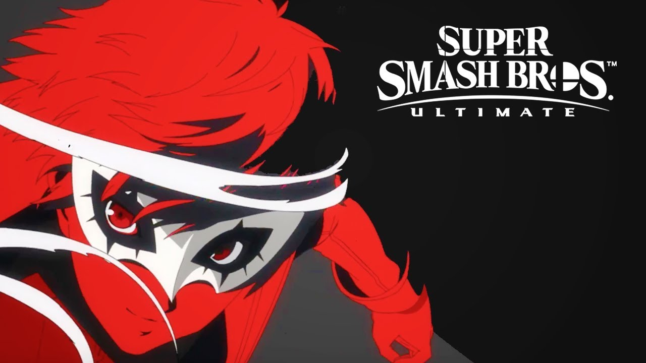 Super Smash Bros  Ultimate - Persona 5 Joker DLC Official Trailer | The  Game Awards 2018