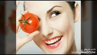Skin whitening Tomato face mask,Get fair glowing skin Beauty secrets by me, beautysecretsbyme