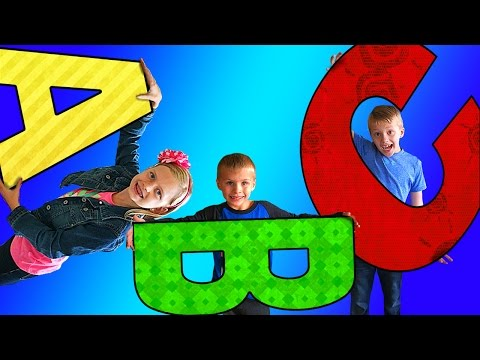 ABC SONG & DANCE!! - Learn Letters with Family Fun Pack