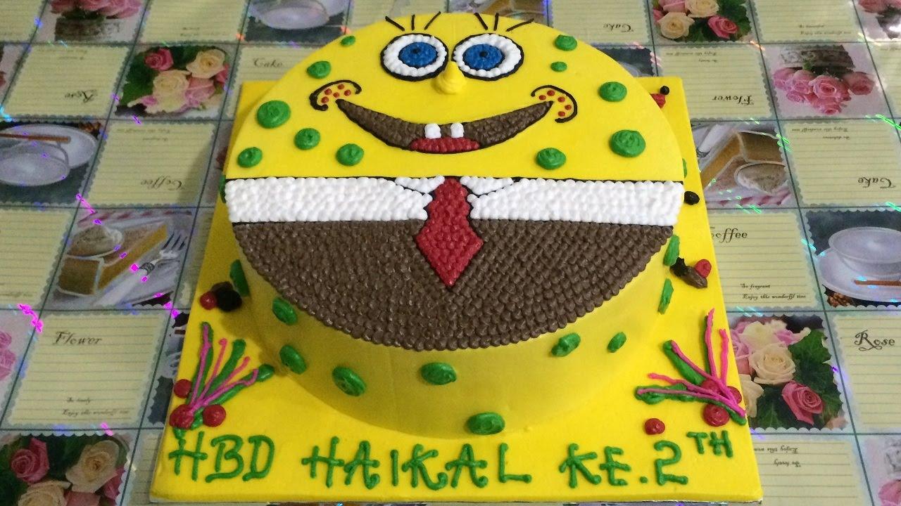 Spongebob Cake Decorating Unique Youtube