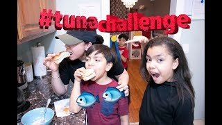 Trying Adrienne Houghton Fruit Punch tuna Salad   Fab. Mom and Kids!!
