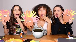 HAVE WE EVER HAD A CRUSH ON ANY OF THE BOYS? TURKEY TALK WITH THE MERRELL TWINS!!