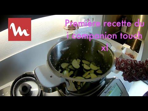 première-recette-du-moulinex-i-companion-xl-touch-:-velouté-de-courgettes-aux-lardons