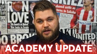 Howson: Manchester United Academy Update