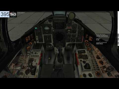 DCS World AJS-37 Moscow sunk