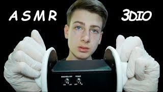 ASMR👂New 3Dio Test👂Triggers | Ear Massage, Mouth Sounds, Ear Tapping, Ear Cleaning etc