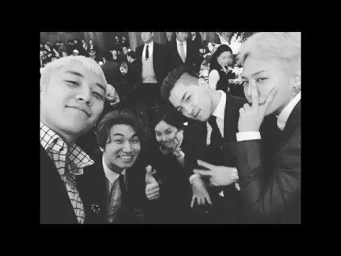 160409 G-Dragon at a wedding ~Live Nation Korea CEO