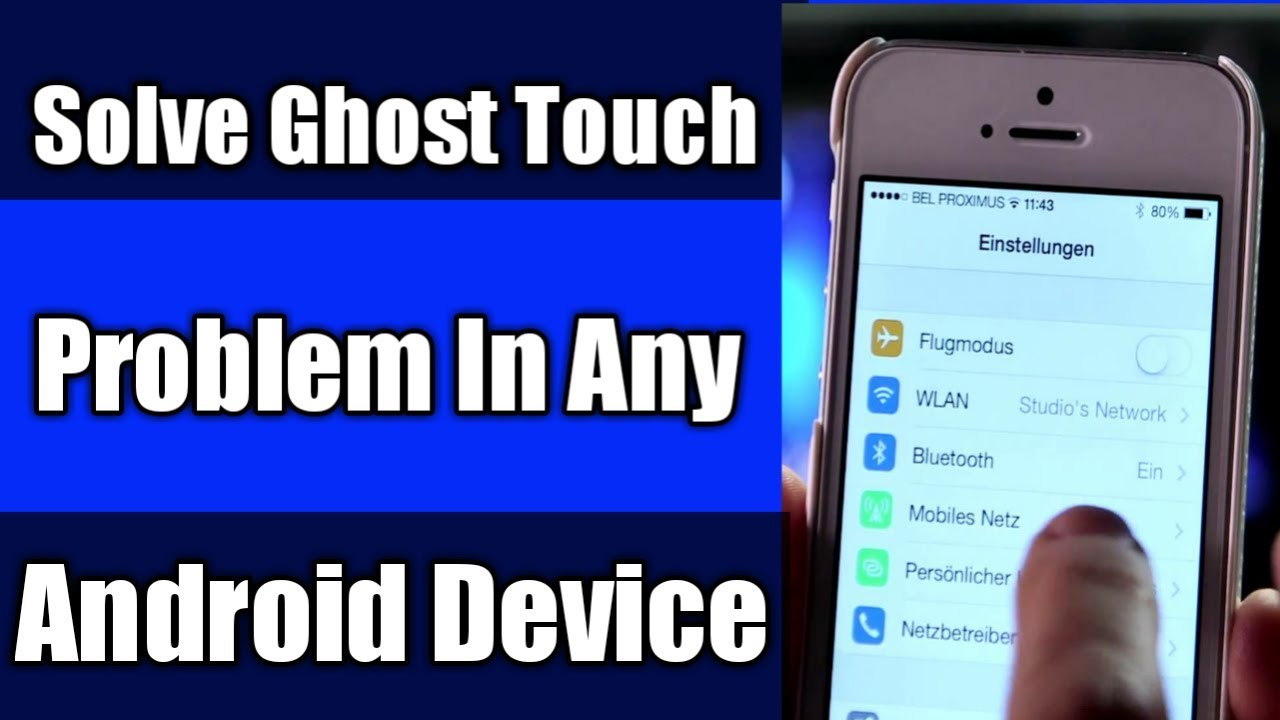 How To Solve The Ghost Touch Problem In Any Android Device | Automatic  Touch Fix Kaise Kare Android