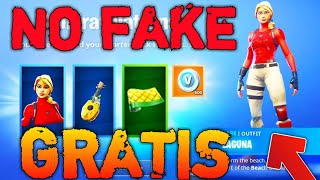 COMMENT GET PACK LAGUNA GRATUIT SUR FORTNITE NO FAKE!! 100% DE TRAVAIL!! GLITCH 600 VBUCKS GRATUIT