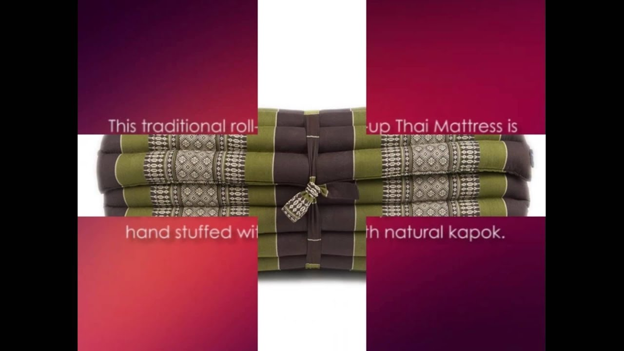roll up thai mattress review