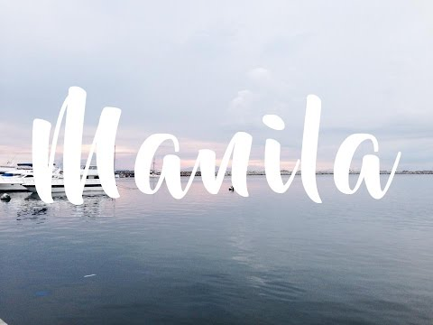 Getting around Manila, earthquake and film cameras