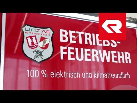 Rosenbauer CL-P Elektro - Kooperation Linz AG & Kreisel Electric