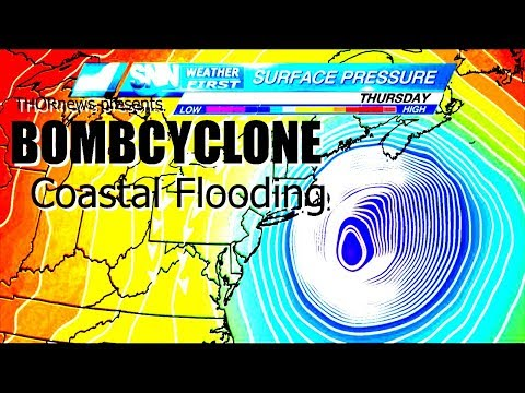 Danger! East Coast BOMBCYCLONE could cause major Coastal Flooding!