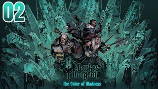 Zagrajmy w Darkest Dungeon: The Color of Madness - MŁYNARZ PIERWSZY BOSS [#02]