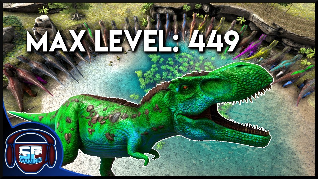 HOW TO BREED A MAX LEVEL DINO -- Hitting level cap -- Everything you Need  to Know about Dino Stats