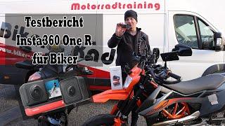 Insta360 One R für Motorradfahrer ( geeignet - ja / nein )