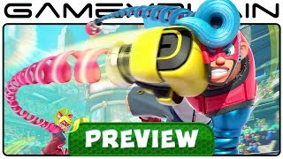 1 Week with ARMS - Hands-On Preview (Nintendo Switch)