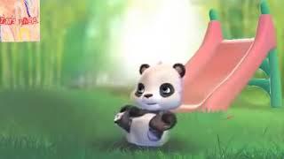 Baby I Love You & I Miss You By Cute Panda Bear
