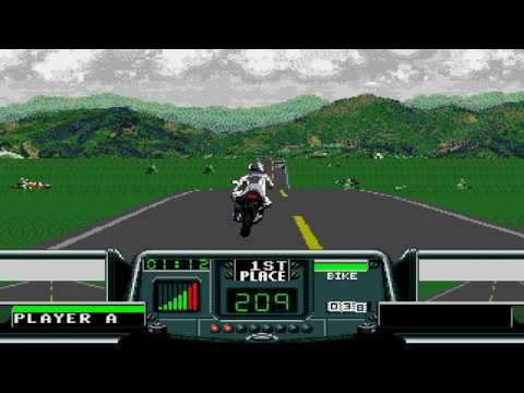 [TAS] Road Rash 3 - Level 1 - U.K. (Black Bike, All Upgrades) In 1:40